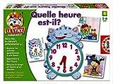 Educa - 13591 - Jeu Educatif - Quelle Heure Est-Il? - Petit Lynx Educatif