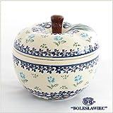 [Zaklady Ceramiczne Boleslawiec/ザクワディ ボレスワヴィエツ陶器]リンゴのポット12.5cm-892 ポーリッシュポタリー