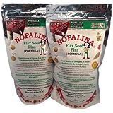 2PK Nopalina 16oz Omega 3 6 & 9 Cleanse & Detox Supplement - 2 Sample Healthy Coffee