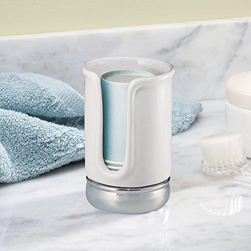 Interdesign york bath collection disposable paper cup for Interdesign york