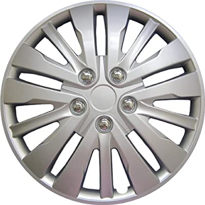 "Drive Accessories KT-1028-16S/L, Honda Accord, 16"" Silver Replica Wheel Cover, (Set of 4)"