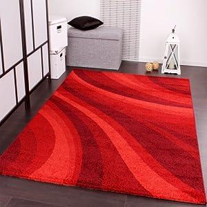 PHC - Tappeto moderno per soggiorno e altro con motivo a onde, colore ...