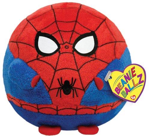Imagen de Ty Beanie Ballz Spiderman Peluche - Regular
