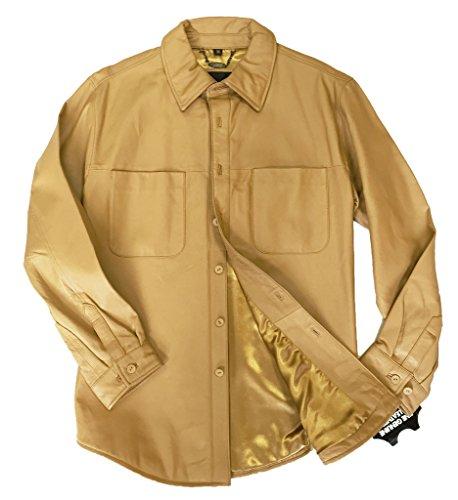 mens-leather-shirt-jacket-genuine-napa-soft-supple-light-weight