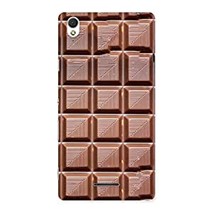 Luxirious Delicious Choco Back Case Cover for Sony Xperia T3
