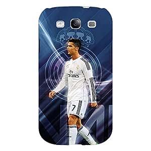 Jugaaduu Cristiano Ronaldo Real Madrid Back Cover Case For Samsung Galaxy S3 Neo GT- I9300I