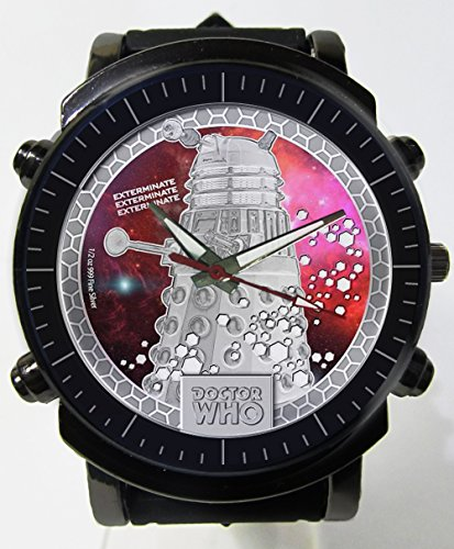 Hot New Awesome Dr Who Logo Custom Printed Sports Wrist Watch