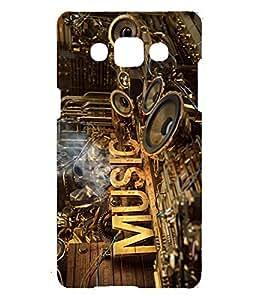 Letz Dezine Music Printed Design Mobile Back Case Cover for Samsung Z3