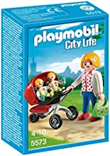 Comprar Playmobil - Life, mamá y carrito de gemelos (5573)