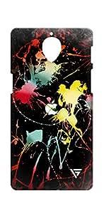 Vogueshell Graffiti Design Printed Symmetry PRO Series Hard Back Case for Oneplus Three