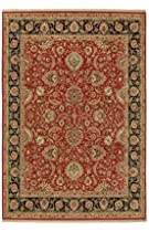 "Hot Sale Stonegate Hampstead Red Rug Rug Size: 9'6"" x 13'1"""