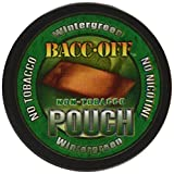 Bacc Off - Non-Tobacco Nicotine Free Herbal Snuff - Wintergreen Pouch (5 Cans)
