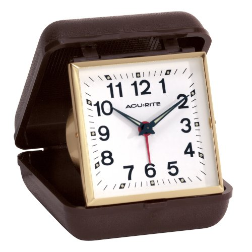 Chaney Instruments AcuRite Traveler Folding Alarm Clock