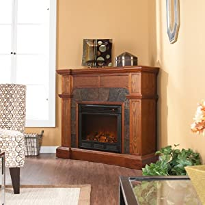 Southern Enterprises FE9285 Cartwright Convertible Electric Fireplace