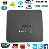 Product Description The Android MXQ Smart TV Box. Experience Android like you never have before. Android MXQ brings a whole new dimension to TV entertainment! Supports Kodi XBMC, Local File Play, Video Streaming and Plugins! Watch live video ...
