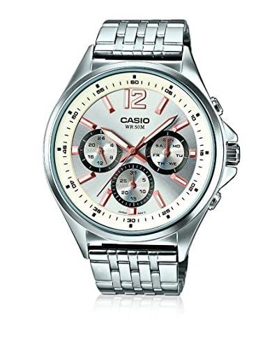 Casio Reloj con movimiento cuarzo japonés Mtp-E303D-7A  53.00 mm