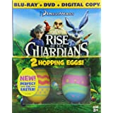Rise of the Guardians - Limited Edition Easter Gift Pack (Blu-ray / DVD / Digital Copy + 2 Hopping Toy Eggs) ~ Chris Pine