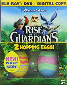 Rise of the Guardians - Limited Edition Easter Gift Pack (Blu-ray / DVD / Digital Copy + 2 Hopping Toy Eggs)