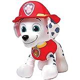 New Patrol Dog Stuffed Toys Puppy Doll Toys Cartoon Plush Toy Marshall Doll (White)