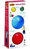 Edushape Sensory Ball Mega, Colors May Vary, 4 Count