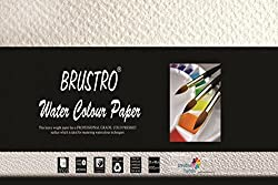 Brustro Watercolour Papers 300 GSM 20CM X 40CM