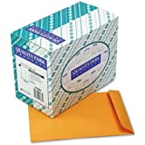 Quality Park 41665 Quality Park Catalog Envelopes, Heavyweight/Gummed, 10x13, 28lb, Kraft, 250/Box