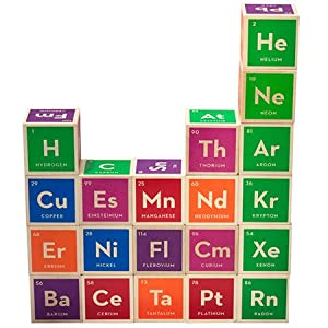 Uncle Goose Periodic Table Building Blocks