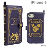 Disney Characters Old book iPhone 5/5S/5C Case (Mickey & Minnie /Navy)