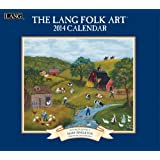 Lang Perfect Timing - Lang 2014 Lang Folk Art Wall Calendar, January 2014 - December 2014, 13.375 x 24 Inches (1001702)