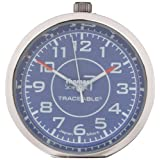 "Thomas 1003 Traceable Stick-It Mini Clock, 1-19/32"" Diameter x 19/64"" Depth"