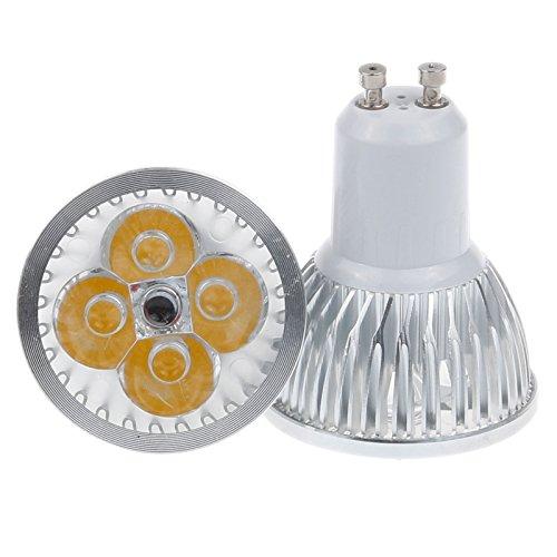 S6Store® 4W Gu10 110V Dimmable Warm White Led Light Section Bar Spotlight For Home Garden Business Lighting (2 Pack)