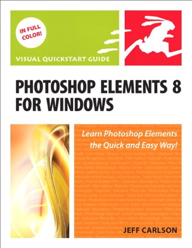 Photoshop Elements 8 for Windows: Visual QuickStart Guide (Windows 8 Visual compare prices)
