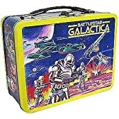Battlestar Galactica Exclusive Tin Tote Gift Set with Figures [Boxey, Muffit & Tucana Singer] New! by Bif Bang Pow! [並行輸入品]