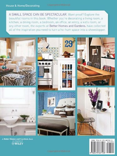 Better Homes And Gardens Small Space Decorating Moda E