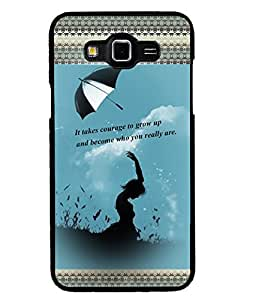 Fuson 2D Printed Quotes Designer back case cover for SAMSUNG GALAXY GRAND MAX G720 - D4133