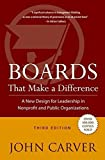 img - for Boards That Make a Difference: A New Design for Leadership in Nonprofit and Public Organizations book / textbook / text book