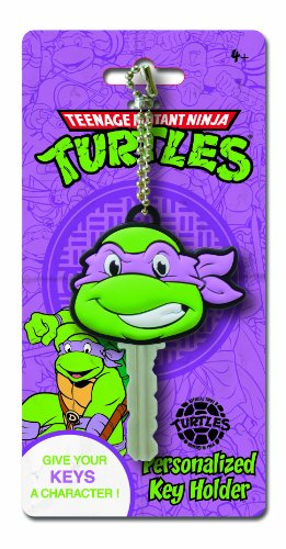 Nickelodeon Ninja Turtles Donatello Key Holder Key Ring - 1