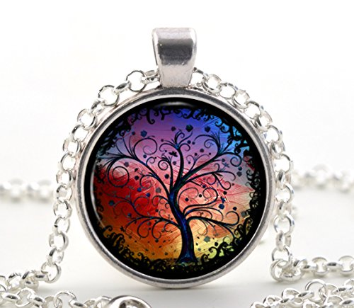 tree-of-life-necklace-pendant-silver-charm-chain-fantasy-tree-gifts-for-her