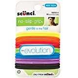 Scunci No-slip Grip Evolution Bright Jelly Ponytailers, Colors may vary
