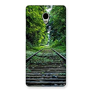 Beautiful Track Green Back Case Cover for Lenovo Vibe P1