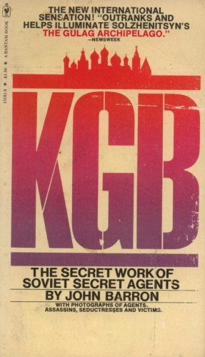 KGB (The Secret Work of Soviet Secret Agents), Barron,John