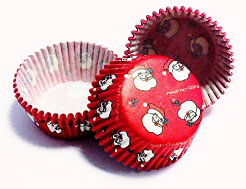 Pme Arts & Crafts - Capsulas Mini Cupcakes Christmas, 100 Unids