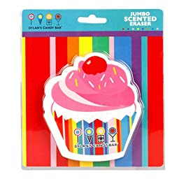 1 X Dylan\'s Candy Bar Jumbo Scented Eraser - Cupcake
