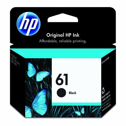 HP 61 Black Ink Cartridge (CH561WN#140)