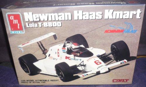 #6753 AMT/Ertl Newman Haas K-Mart Lola T-8800 1/25 Scale Plastic Model Kit