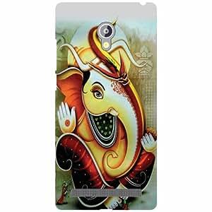 Via flowers Back Cover For Asus Zenfone 6 Ganesh Multi Color