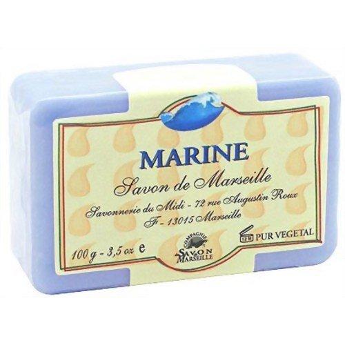 マルセイユ石鹸 マリン 100g