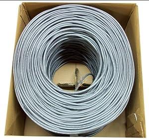 new 1 000 ft bulk cat5e ethernet cable wire. Black Bedroom Furniture Sets. Home Design Ideas