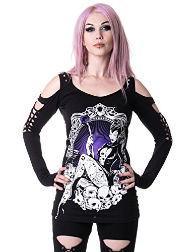 Heartless Clothing - Canotta -  donna nero Medium