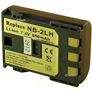 Otech D048SA Batterie pour Appareil Photo Numérique de type NB-2LH/NB-2L